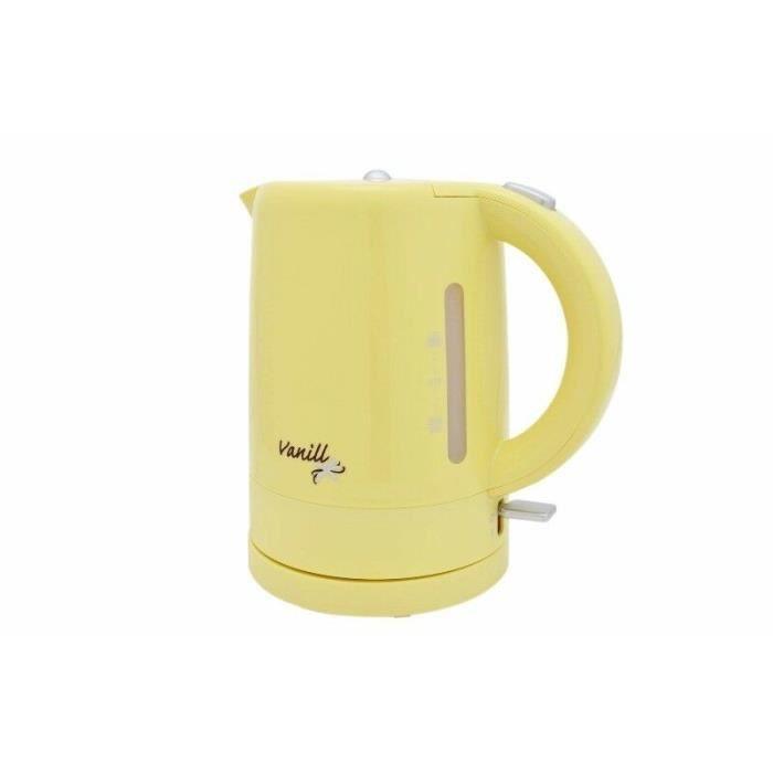 Efbe-Schott Bouilloire 1 Litre 2200 Watt sans fil doré vanill