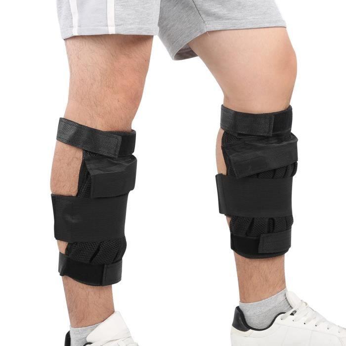 Bande de Jambe Lestée Réglable de Poids de Chargement à Cheville Sangle Flexible d'Entraînement à Exercice