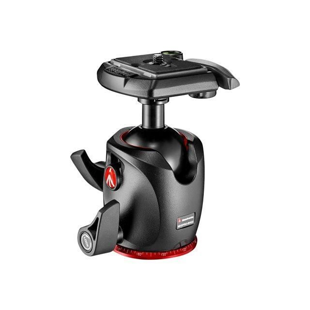 Manfrotto MHXPRO-BHQ2 - Rotule Ball XPRO réglageen magnesium avec plateau (ref : MHXPRO-BHQ2)