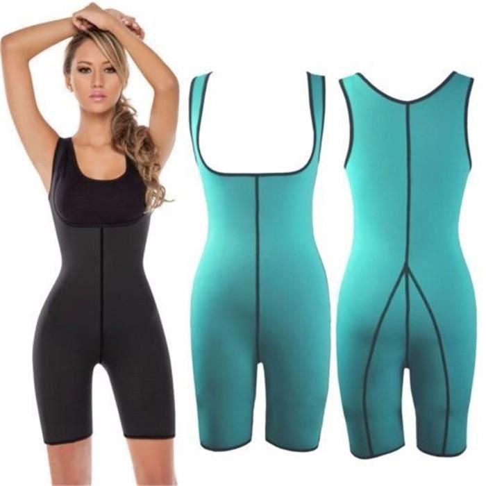 Combinaison Sudation Survêtement Costume De Sauna Sweat Suit Fitness Training