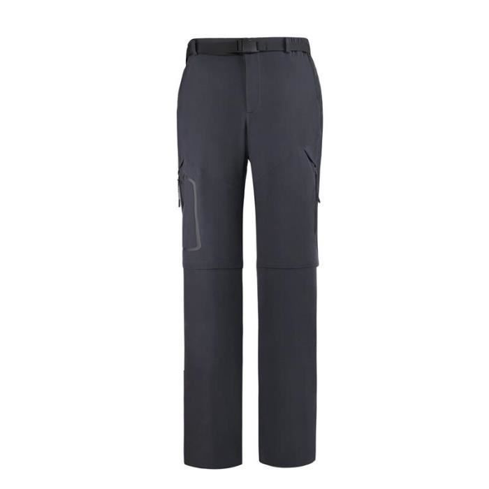 Pantalon Softshell Femme Imperméable Séparable Pantalon Randonnée Printemps