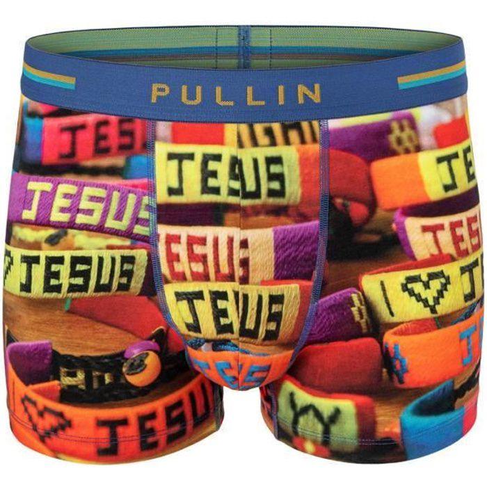 PULL IN Boxer Homme Coton Bio JESUS Multicolore