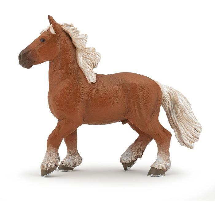 PAPO Figurine Cheval comtois