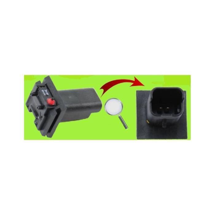 Bouton seul de coffre électrique arrière pour Citroen Berlingo II - de 04/08 à 12/18