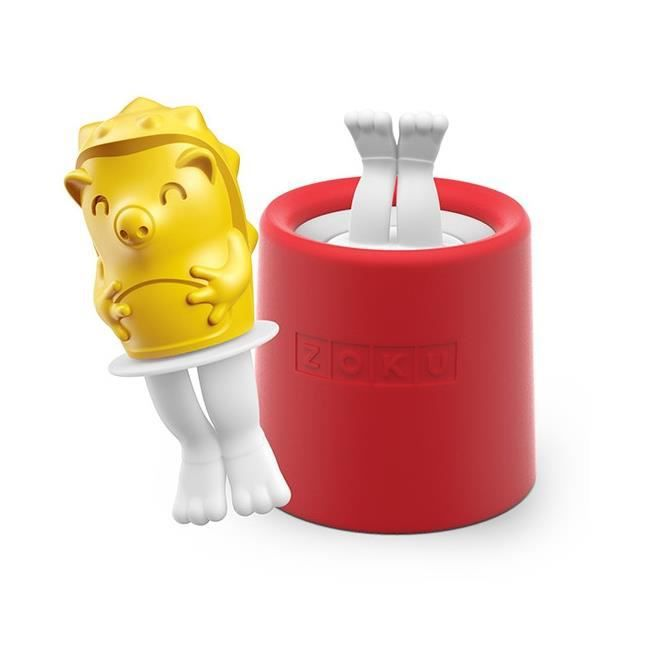 Zoku Fun Character Pops ice lolly collection - slow pops with drip guards