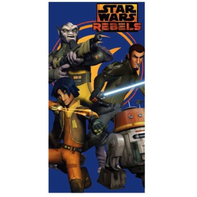drap de bain serviette star wars rebels achat vente. Black Bedroom Furniture Sets. Home Design Ideas