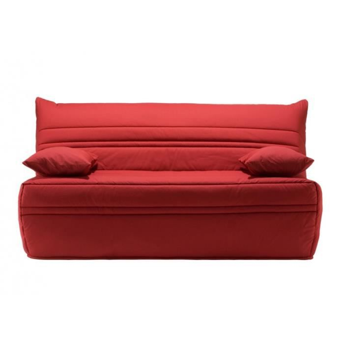 banquette bz vikk 160 choix du tissu a455 rouge achat. Black Bedroom Furniture Sets. Home Design Ideas