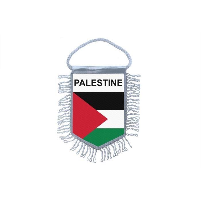 Akachafactory Fanion Mini Drapeau Pays Voiture Decoration Palestine palestinien