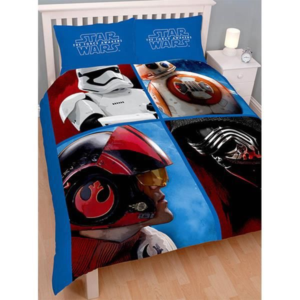 parure de lit double star wars divider achat vente. Black Bedroom Furniture Sets. Home Design Ideas