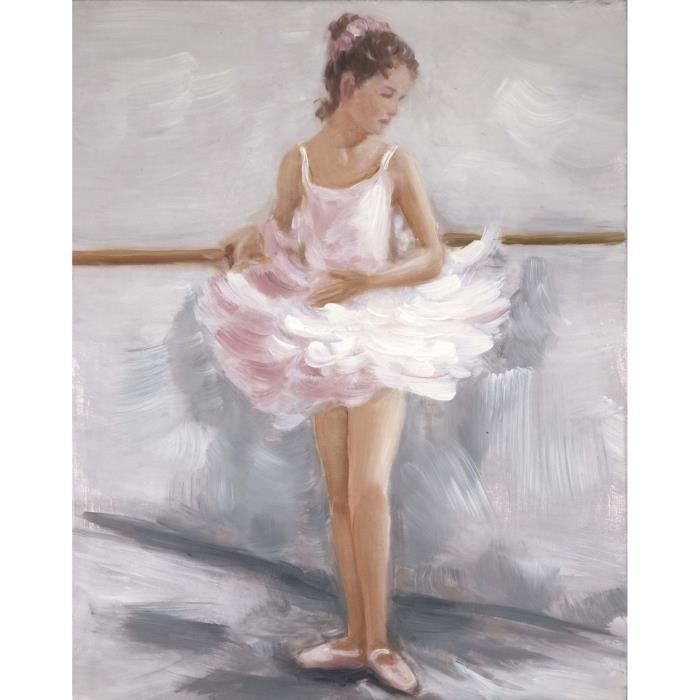 danseuse tableau d co sur toile peinte 40x50cm achat. Black Bedroom Furniture Sets. Home Design Ideas