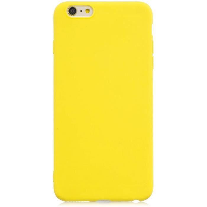 Coque iPhone 6-6S Plus {1 Pièces Protège Écran en