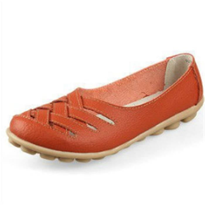 Bdg Femmes Jaune vert Leger Plate Ete xz053orange37 Ultra bleu Chaussures Loafer blanc orange w6nxq4YY