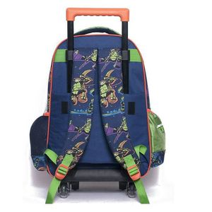 cartable cartable roulettes tortue ninja 43 cm power trol - Cartable Tortue Ninja