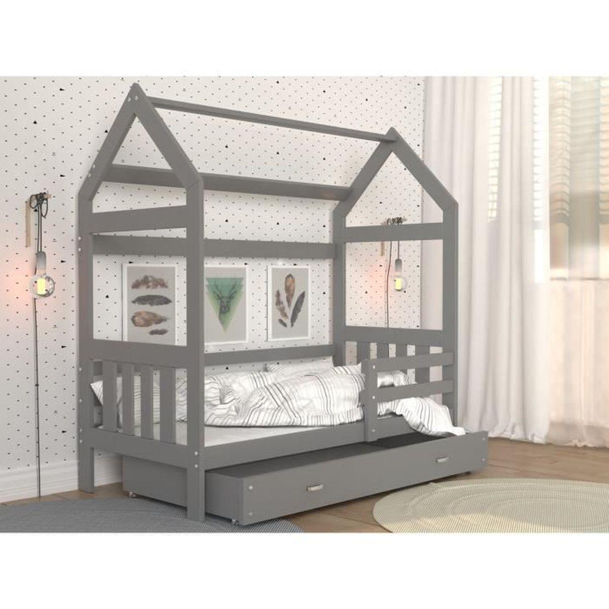 Diy Lit Cabane 90X190 ameublement et décoration kids literie lit cabane 160x80 en