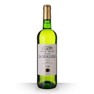 VIN BLANC Château la Moulière 2016 Blanc 75cl AOC Côtes de D
