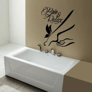 stickers salle de bain achat vente stickers salle de. Black Bedroom Furniture Sets. Home Design Ideas