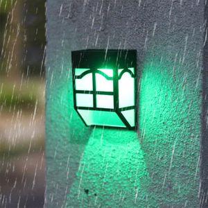LAMPE DE JARDIN  Applique murale exterieure solaire, Lampe solaire
