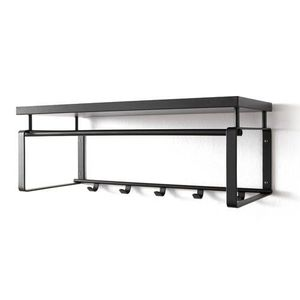 porte manteau mural avec tag re achat vente porte manteau mural avec tag re pas cher. Black Bedroom Furniture Sets. Home Design Ideas