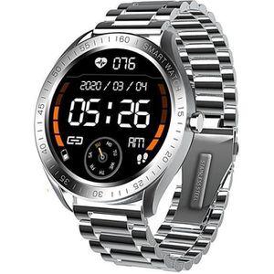 LATEC Montre Connect/ée Tracker dActivit/é Homme avec Moniteur Cardio Fr/équence//Podom/ètre//Alerte SNS//Ecran Tactile 5ATM Etanche Montre Intelligente Smartwatch Compatible iOS Android Huawei