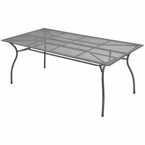 TABLE BASSE JARDIN  FREOSEB Table de salle à manger d'extérieur Maille