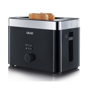 GRILLE-PAIN - TOASTER GRAEF TO62 Grille-pain - Noir