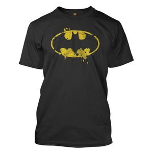 T-SHIRT T-shirt - BATMAN - Grunge Symbol...