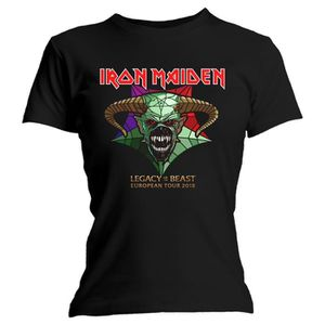 T-SHIRT Ladies Iron Maiden Legacy of the Beast Tour  offic