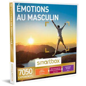 COFFRET SÉJOUR Coffret cadeau - Émotions au masculin – Smartbox