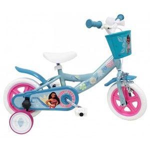 VÉLO ENFANT VAIANA Vélo 10 '' - Avec panier avant et klaxon