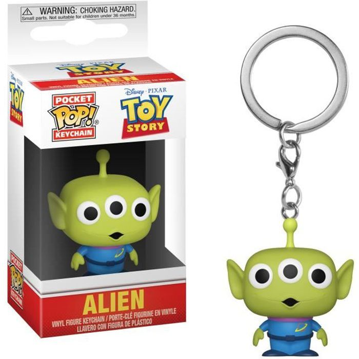 Porteclé Funko Pocket Pop! Toy Story: Alien