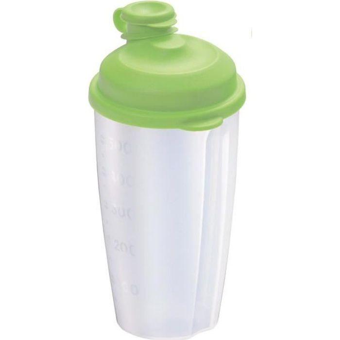 Westmark 2435227A Mixery Shaker à Vinaigrette Plastique Vert Pomme 20 x 10 x 9 cm 0,5 L
