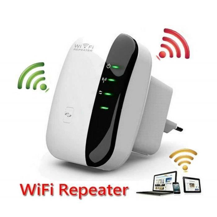 SHAN Yolistar Répéteur WiFi Booster - 300Mbps Extenseur sans Fil Amplificateur de Signal du Réseau(