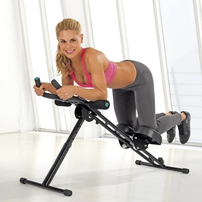 VITALmaxx Entraîneurs d'ab -Fitmaxx 5- pliable - entraîneur pour le dos, l'abdomen, les bras et les jambes en un seul appareil avec