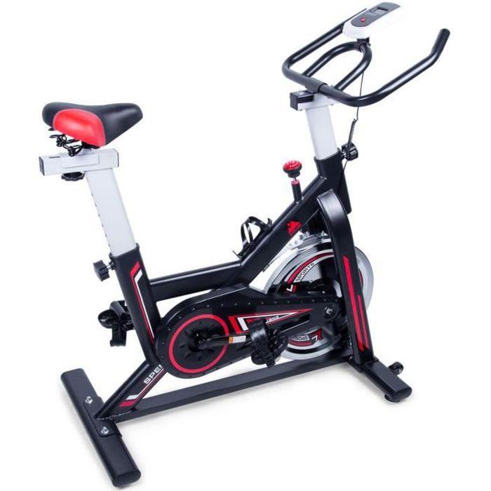 Vélo d'appartement-EVOLAND GH-709 Vélo d'exercice/Musculation X-Bike/ Résistance réglable/ noir