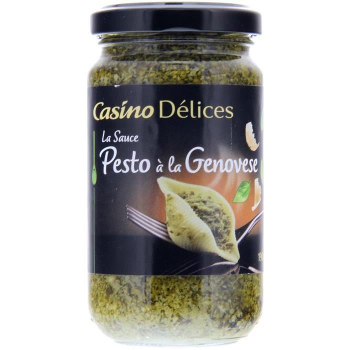 CASINO DELICES Sauce Pesto à la Genovese - 190g