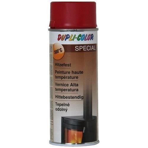 Peinture SPECIAL haute temperature 300c° ROUGE 400ML Duplicolor - MO467554