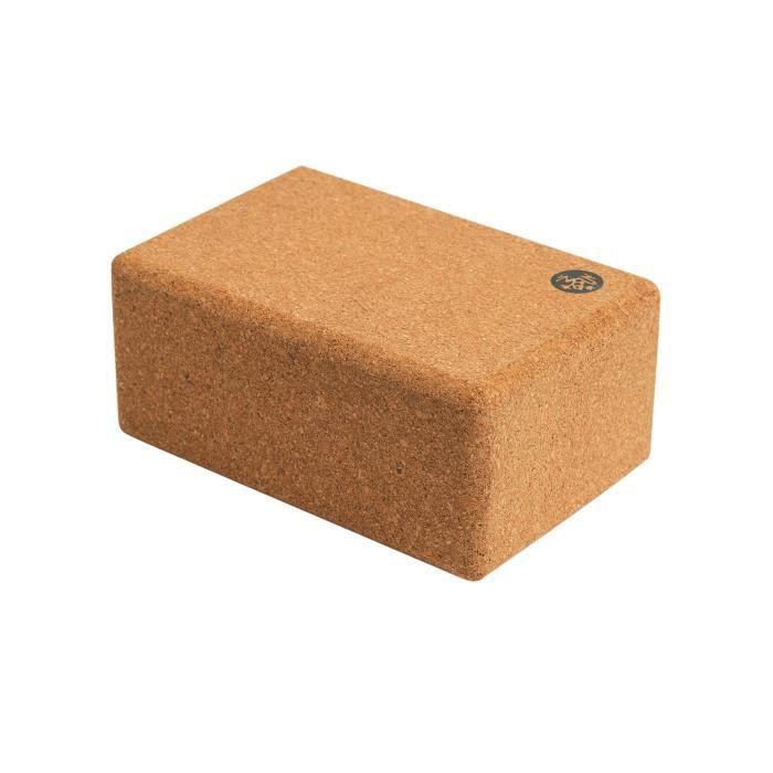 Manduka Tapis de sol en liège en forme de brique