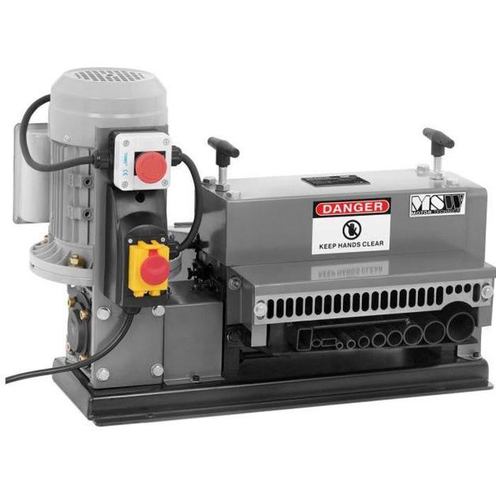 Accessoire Machine outil Dénudeuse Fils Dénudeur Recyclage Cuivre Cables Machine 11 entrées 750W 16m-min