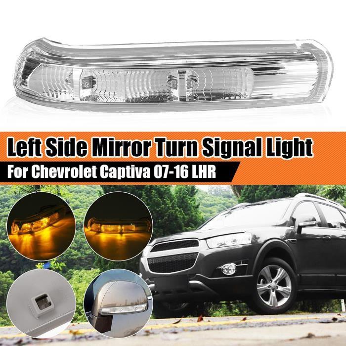T4W Rétroviseur Gauche Clignotant Voyant LED Pour Chevrolet Captiva 07-16 LHR