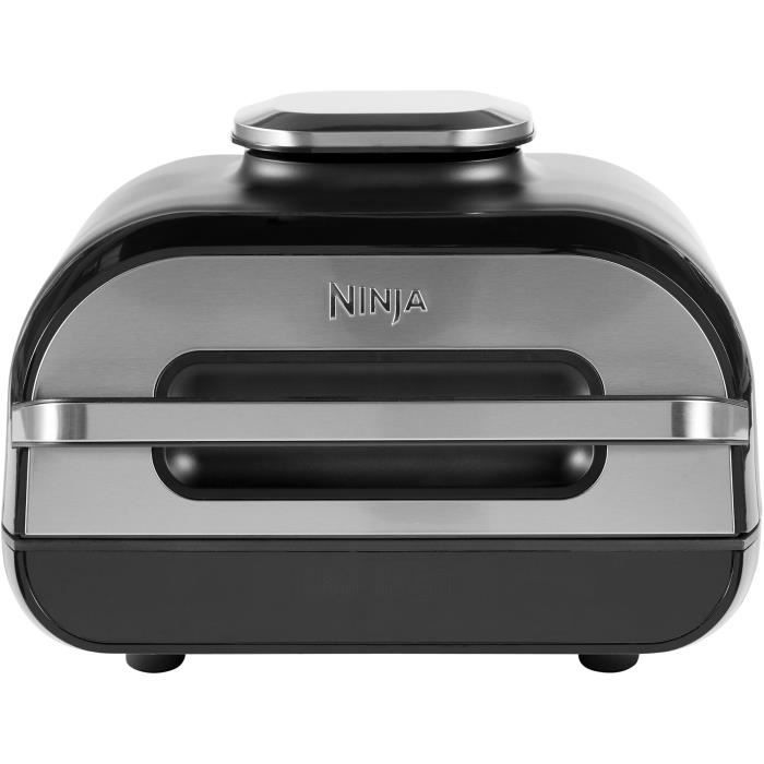 NINJA Grill & Friteuse à Air Foodi MAX [AG551EU] Sonde de Cuisson Numérique, Capacité 5,7L, 6 Fonctions de Cuisson, Vu à la TV