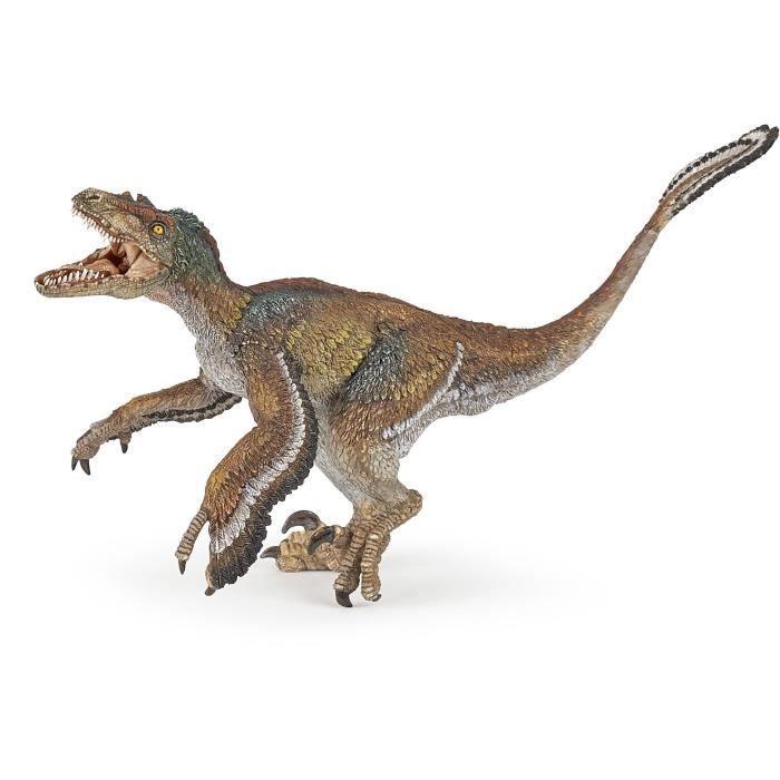 PAPO Figurine Vélociraptor à plumes Pour Enfant
