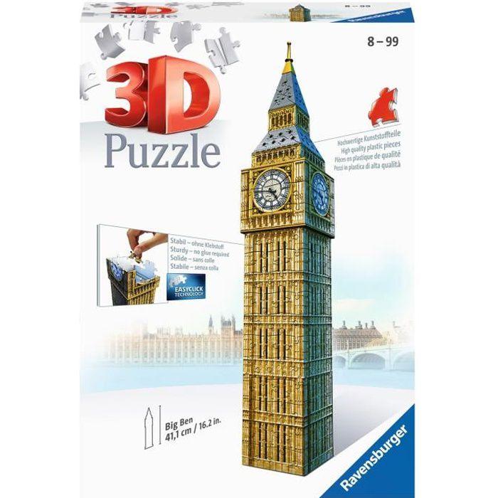 RAVENSBURGER Puzzle 3D Buildings Big Ben 216 pièces