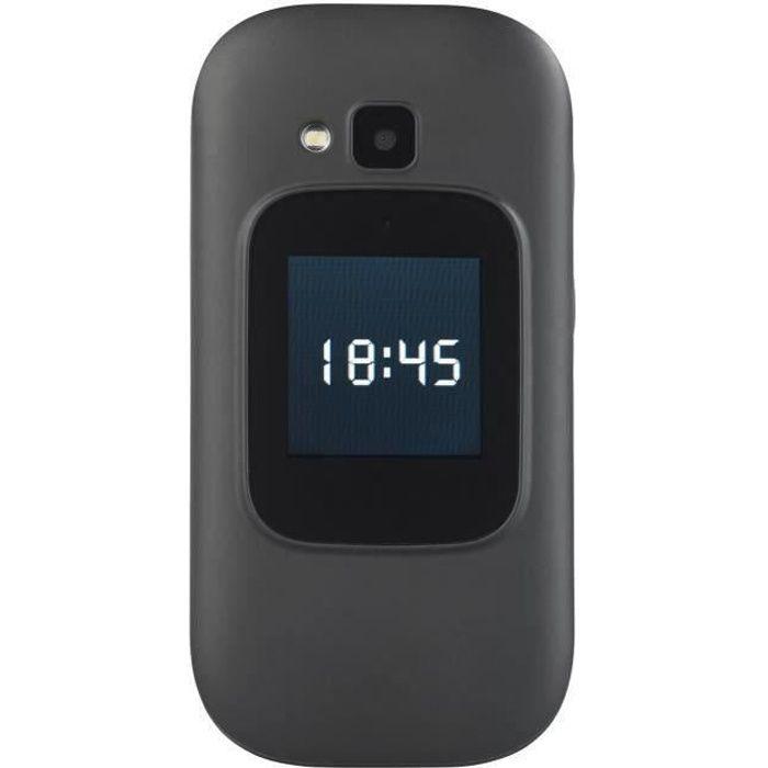 Téléphone portable à clapet 2 écrans avec appel d'urgence XL-965