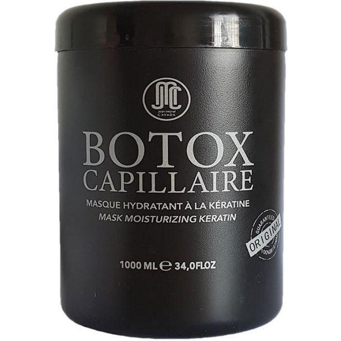 MASQUE SOIN CAPILLAIRE JEAN MICHEL CAVADA Botox Capillaire à la Kératine
