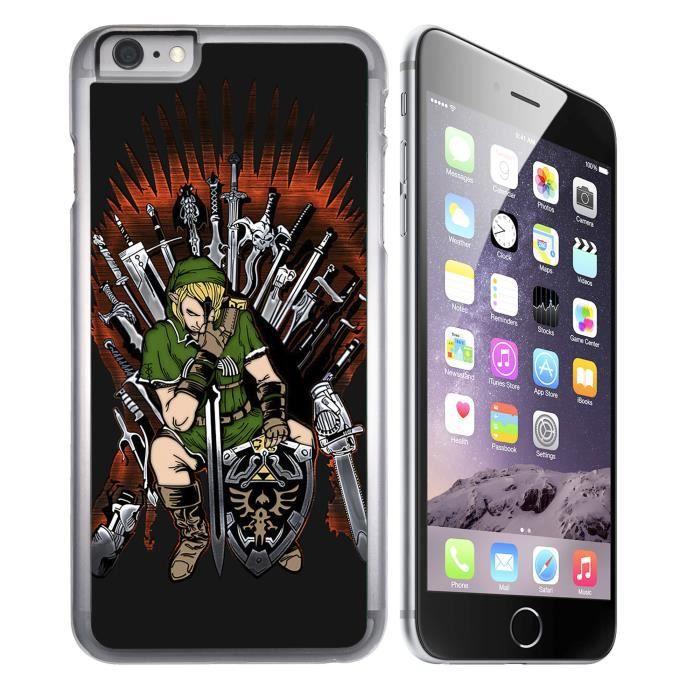 Coque iPhone 6 PLUS - 6S PLUS Zelda x Game of Thrones
