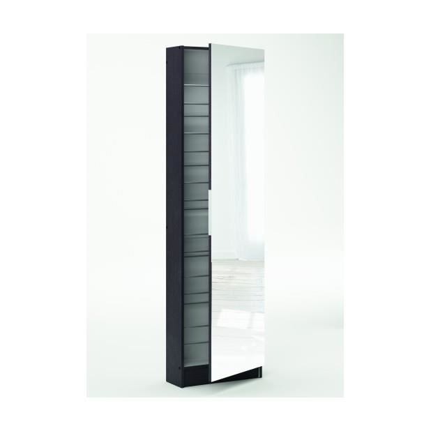 armoire a chaussures miroir maison design. Black Bedroom Furniture Sets. Home Design Ideas