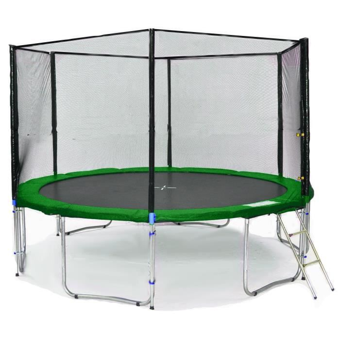 bl t370 ks12gw kid s ports trampoline de jardin 370cm achat vente trampoline cdiscount. Black Bedroom Furniture Sets. Home Design Ideas