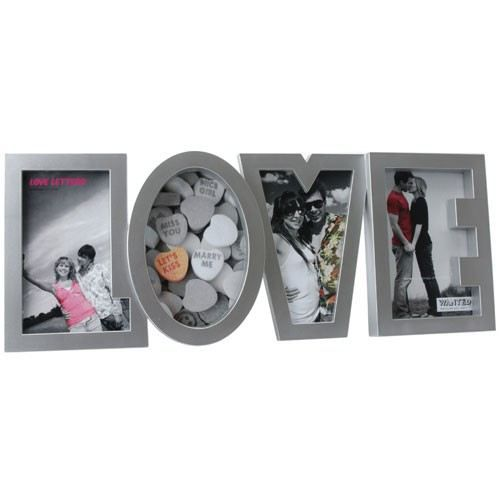 cadre photo love achat vente cadre photo cdiscount. Black Bedroom Furniture Sets. Home Design Ideas