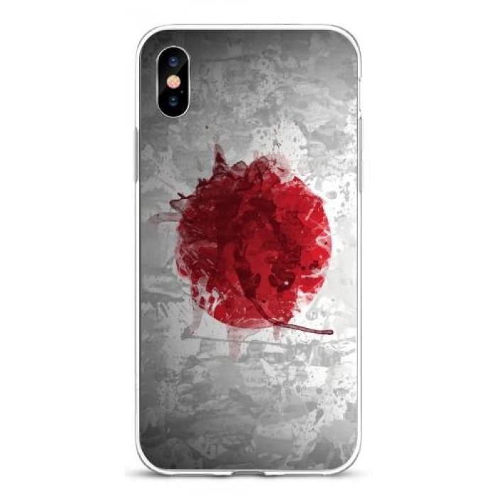 coque iphone x drapeau japon graphique 113