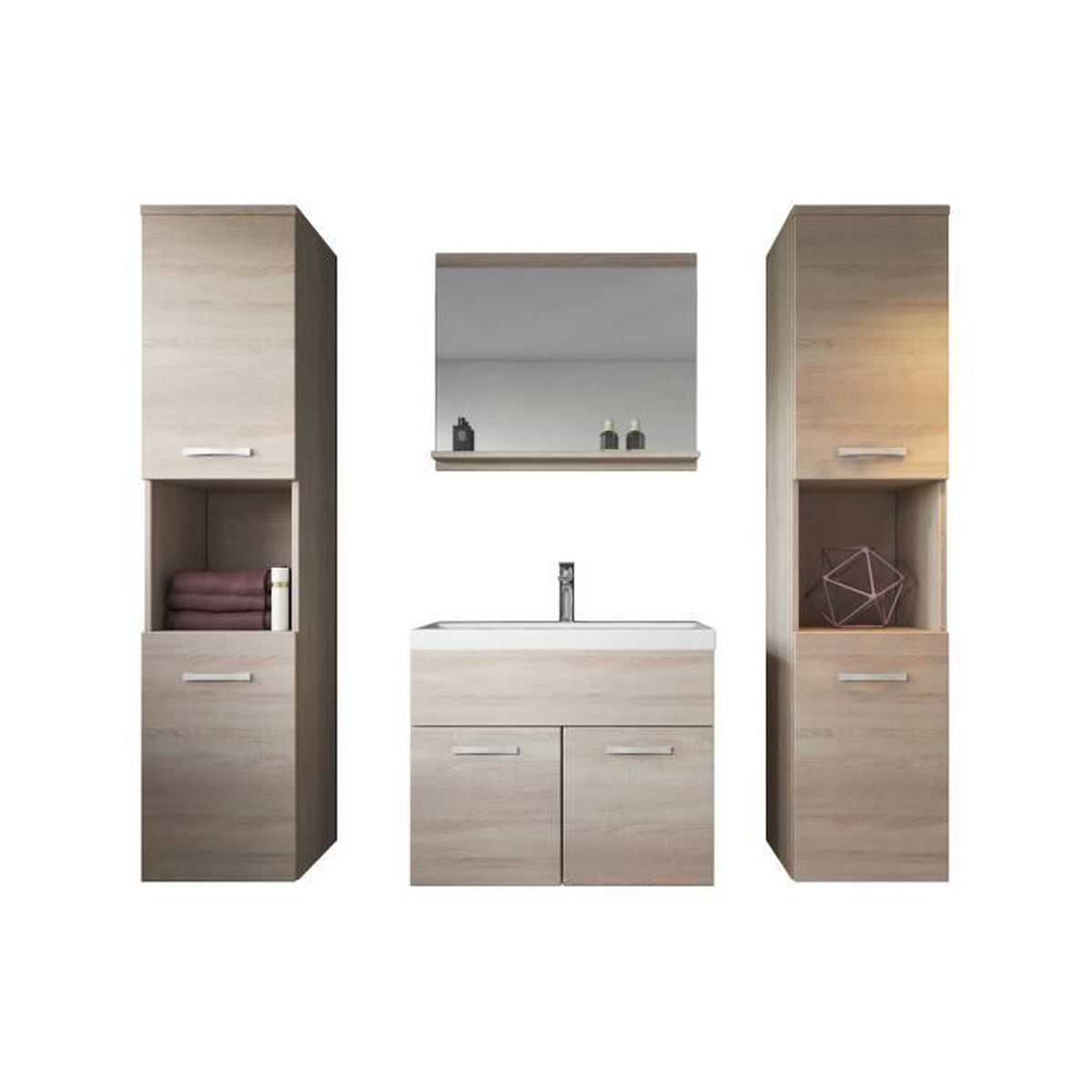faire son meuble de salle de bain good formidable meuble double vasque brico depot meubles de. Black Bedroom Furniture Sets. Home Design Ideas